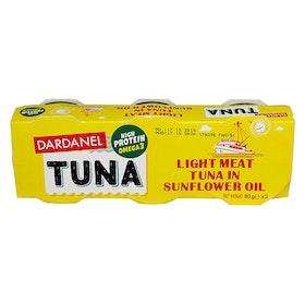 Tonfisk i solrosolja - 3x80g