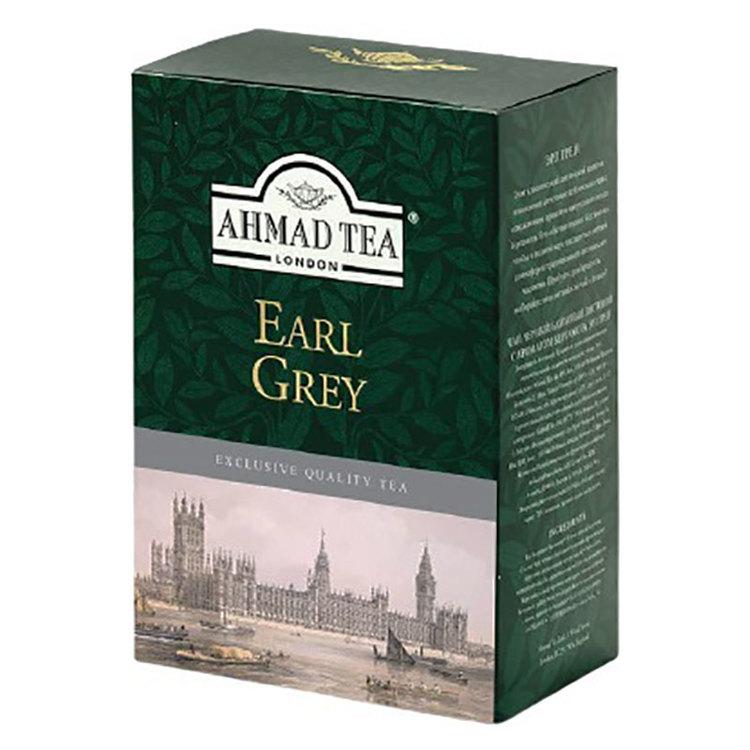 Ahmad tea Earl Grey är en blandad blandning av Ahmad tea's finaste tear, lätt doftat med den eleganta smaken av bergamott. Detta ger den det aromatiska, uppfriskande karaktär som balanserar teens uppf