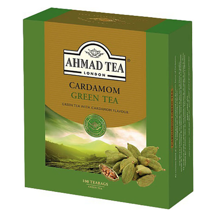 Grönt te kardemumma te är ett utsökt urval av utvalda gröna teer som blandats och förstärkts med en exotisk smak av kardemumma. En värmande och avkopplande upplevelse som kan avnjutas när som helst på