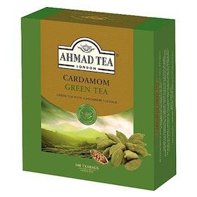 Ahmad Tea grönt te med kardemumma 100 tepåsar