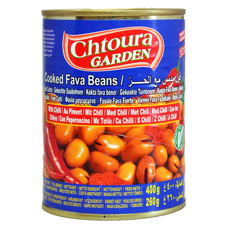 En mättande och riktigt god bönröra med chili, en traditionell frukost i Mellanöstern