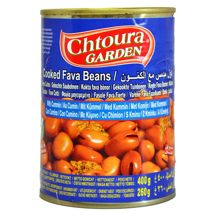 Mättande och riktigt god bönröra med kummin, en traditionell frukost i Mellanöstern