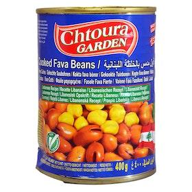 Bondbönor med kikärtor - libanesisk recept  400g