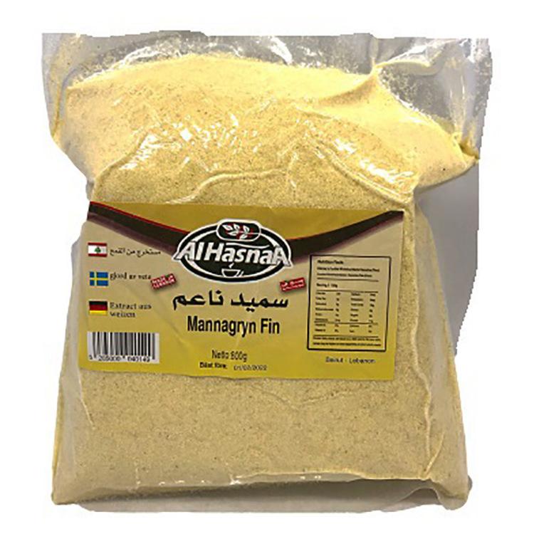 Finmalen mannagryn från Alhasna