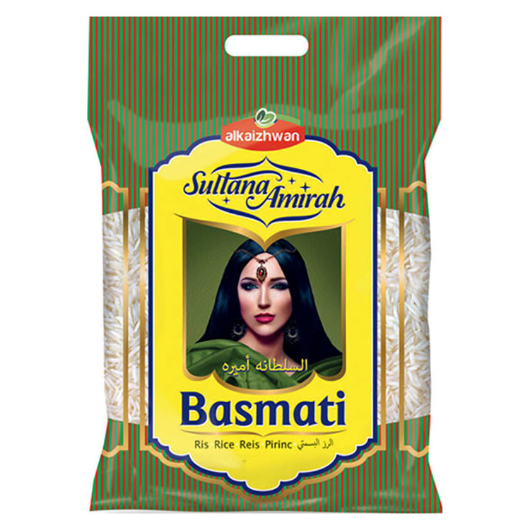 Sultana Amirah basmatiris - basmatiris betraktas som den allra finaste rissorten! Basmatirisets fantastiska doft och unika smak gör det till en favorit i det orientaliska köket. Testa gärna att krydda