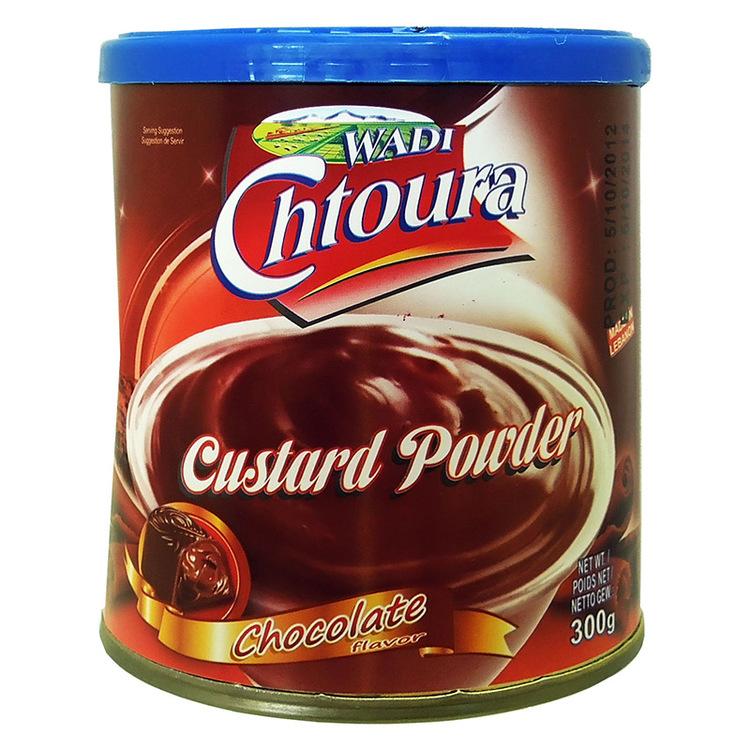 Pulver till chokladpudding från Wadi chtoura.