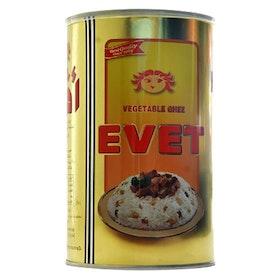 Evet vegetabilisk ghee - klarat smör - skirat smör 1kg