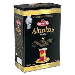Turkiskt svart te Altinbas i burk 400g