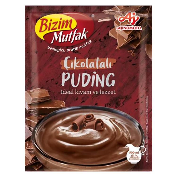 Väldigt god chokladpudding , vi rekommenderar denna att mixa med vår vaniljpudding som en festhöjare eller som vardagslyx. Enkelt att göra, man blandar puddingarna för sig, ex häller i chokladpudding