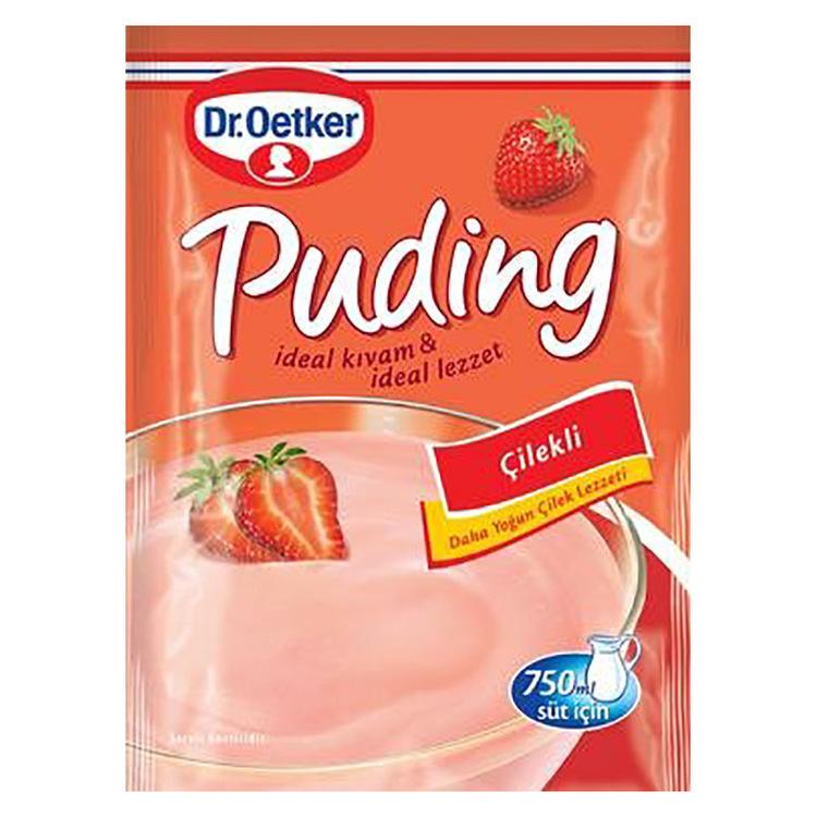 Dr. Oetker jordgubbspudding 125g