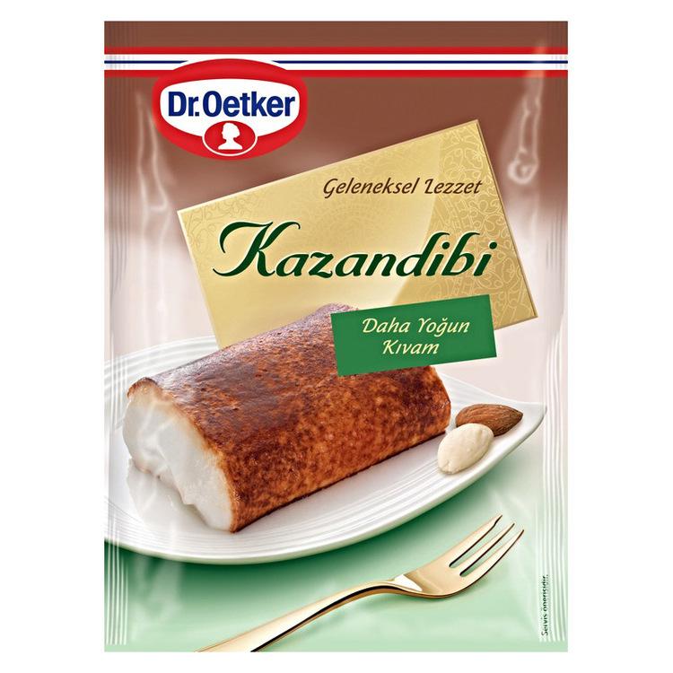 Den turkiska efterrätten kazandibi från Dr. Oetker.