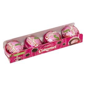 Marshmallowskakor med jordgubbssmak