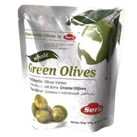 Gröna oliver - i påse