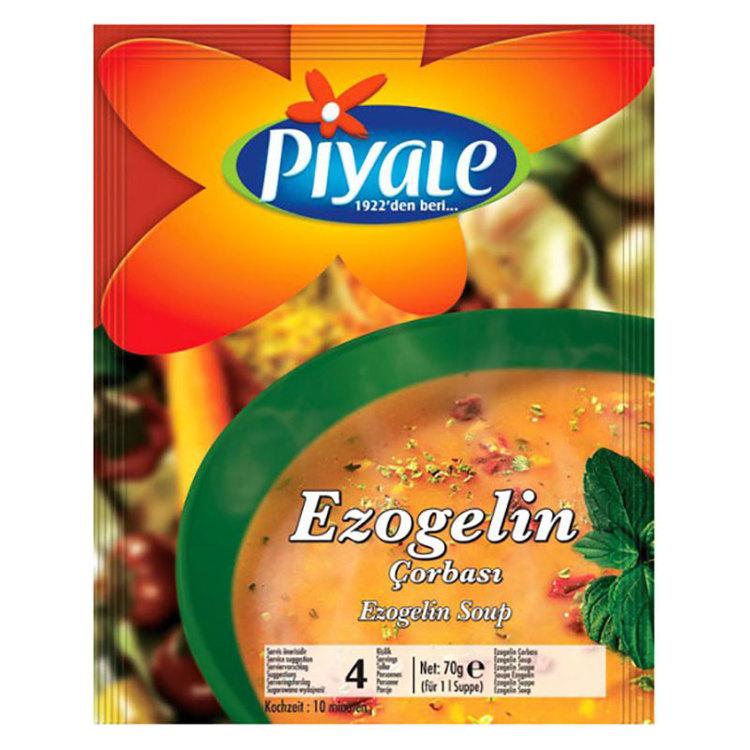 Ezogelisoppa - bröllopssoppa - Soppa med linser mjöl, ris och kryddor.