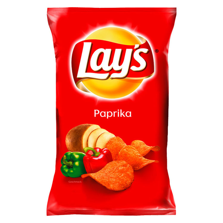 Lays paprika chips.