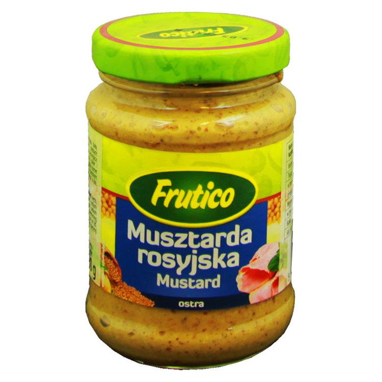 Ryskt senap. Produkt av Polen