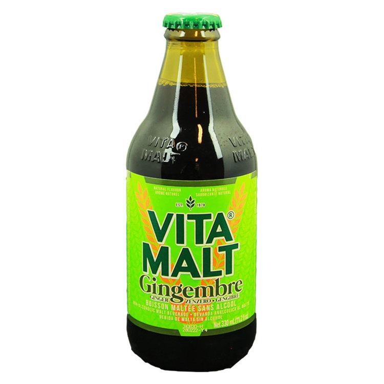 Vitamalt Ginger är en alkoholfri fullkroppsmalt ingefärsöl med den klassiska smaken av Vitamalt och den eldiga men smidiga smaken av ingefära. Vitamalt Ginger är den perfekta drinken för att krydda di