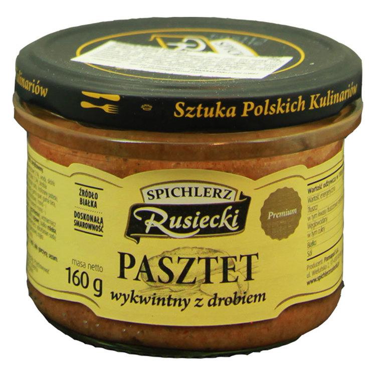 Fjäderfä och fläsk pastej - den är baserat på ett original recept från ingredienser av högsta kvalitet. Produkten smakar perfekt på en krispig bröd med tillsats av tranbär.