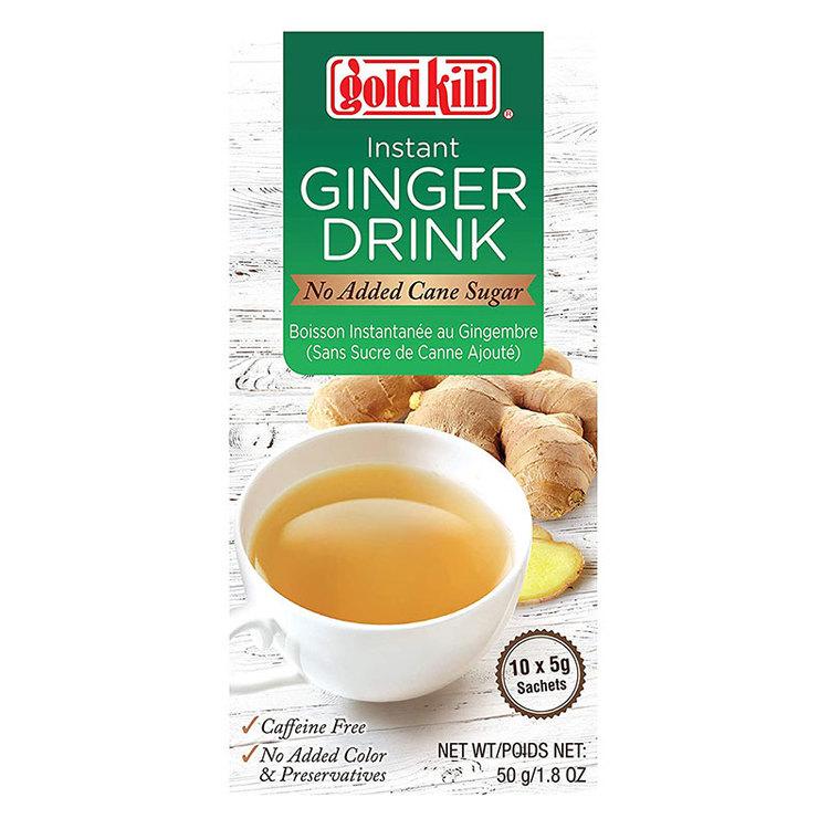 Denna ingefära dryck smakar som nybryggt. Den innehåller inget tillsatt socker för optimal naturlig smak. Varje klunk är tröstande, lätt och uppfriskande. Drycken är fri från koffein, tillsatt färg oc