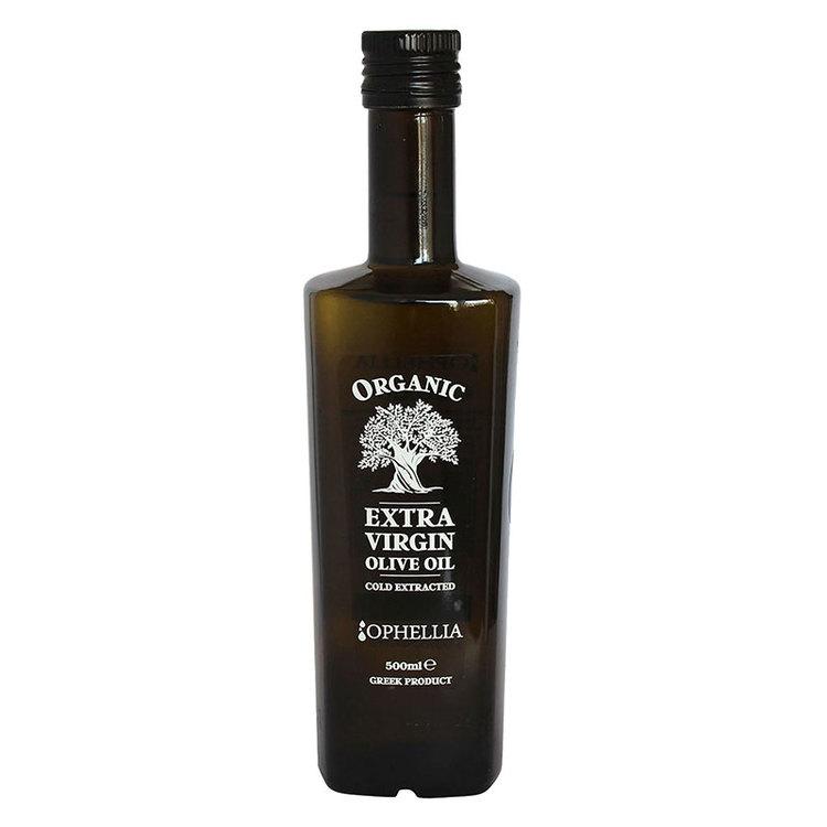 Ekologiskt extra virgin olivolja från Kreta med 02 aciditet. Den här ekologiskt extra virgin olivolja är kallpressad och framställs direkt av solmogna oliver (Koroneiki). Mycket låg syra nivå. Används