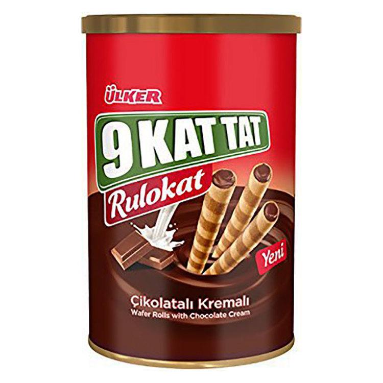 Ulker rulokat - Våffelrullar med chokladkräm