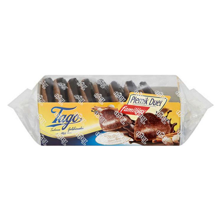 Polska hjärtformade pepparkakor med choklad. Produkt av Polen