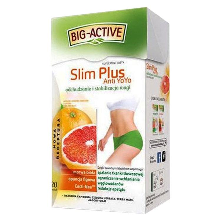 Big-Active Slim Plus viktminsknings te. Ett bra alternativ för dig som vill hålla dig i trim.