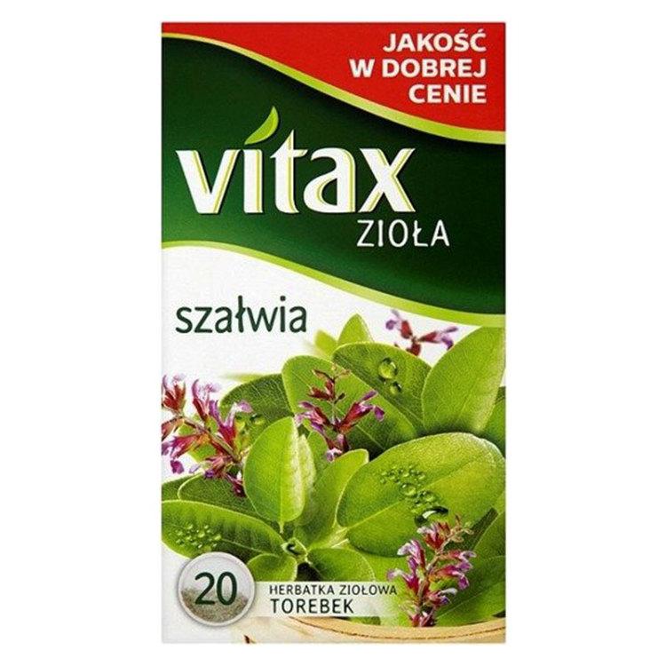 Distinkt doft och friskhet av salvia. Salvia är en krydda med medelhavsrötter, medlem i myntafamiljen och växer som en buske. Bladen är gröna och ovalformade medan blommorna är röda, rosa och vita. De