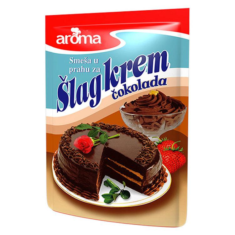 Crème i pulverform som enkelt vispas ihop med mjölk till en fluffig fyllning eller topping. Passar bra till alla sorters tårtor och bakverk.