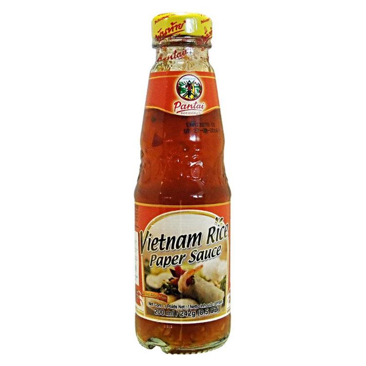 Vietnamesiskt rispapper sås är en perfekt dip sås till vårrullar.
