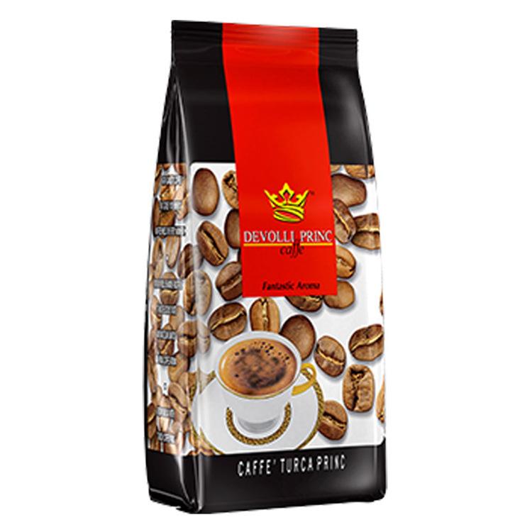 Prince kaffe innehåller speciellt utvalda kaffebönor för att ge den bästa smak och arom.