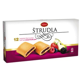 Strudel kakor-fruktkompott