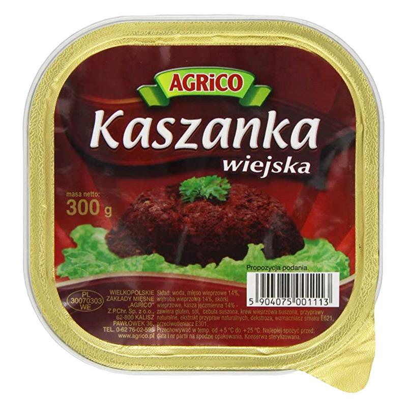 Kaszanka, eller kiszka, är en traditionell blodpudding i Polen, men som också förekommer i andra länder runt om i Europa. En enkel måltid som är snabb att förbereda. Ät blodkorven varm eller kall till