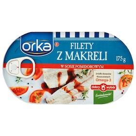 Makrillfiléer i tomatsås