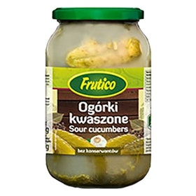 Ogorki kwaszone - Inlagda gurkor