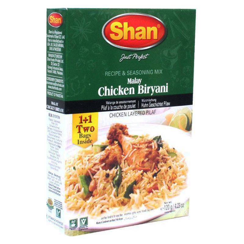 Risrätt varvad med kyckling.