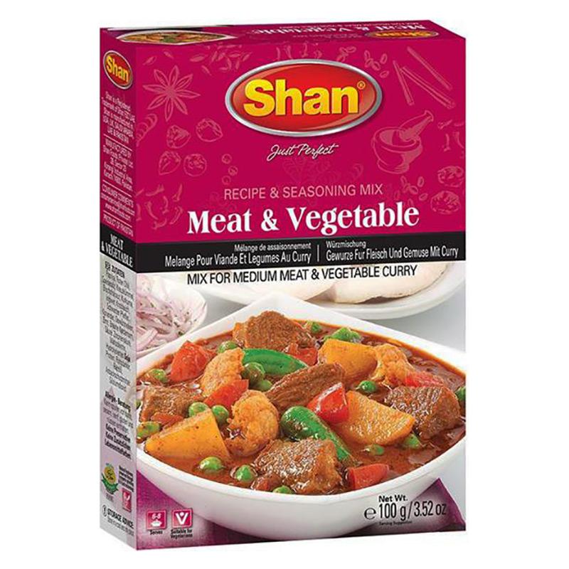 En härlig kryddmix för medium stark kött- och grönsakscurry.