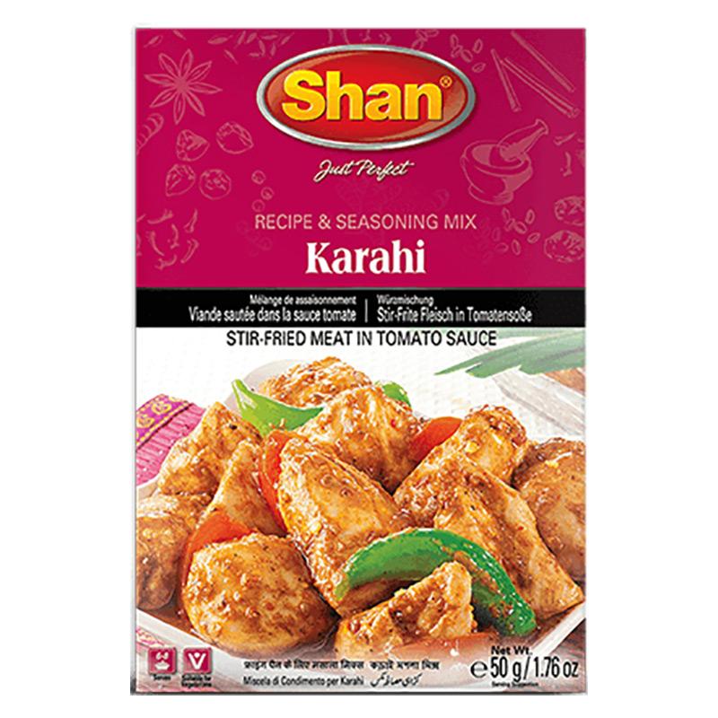 Karahi är en slags indisk köttgryta med tomatsås, som även är populär i Pakistan och Bangladesh.