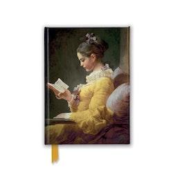 "Skrivbok ""Young Girl Reading"""