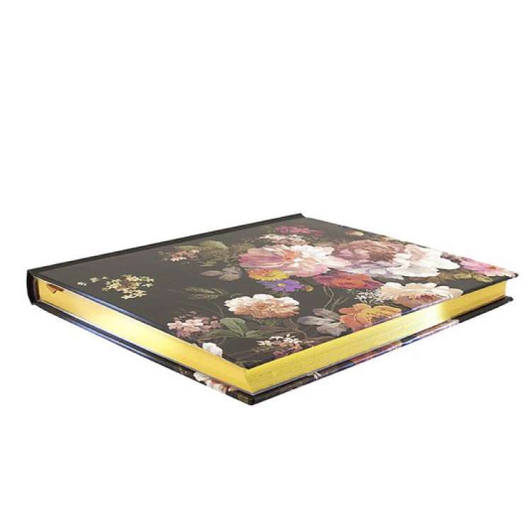 Midnight Floral Oversized Journal