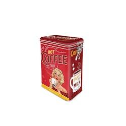 Plåtburk Hot Coffee Now