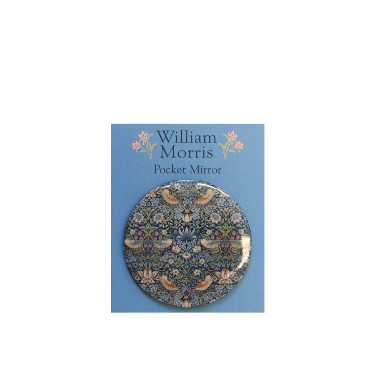 Fickspegel William Morris Strawberry Thief