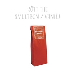 Rött The Smultron & Vanilj 100g