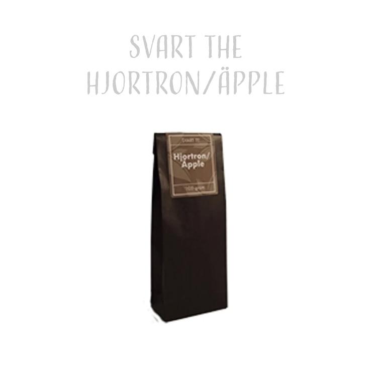 Svart The Hjortron & Äpple 100g