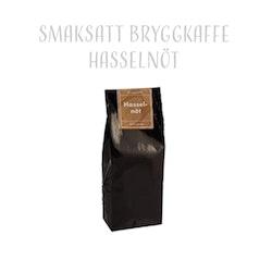 Smaksatt Bryggkaffe Hasselnöt 200 gram