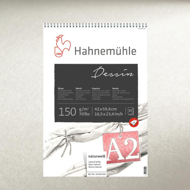 Ritblock Hahnemühle Sketch Dessin 150g spiral A5 25ark
