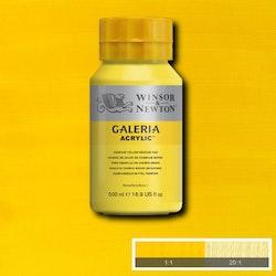 Akrylfärg W&N Galeria Cadmium Yellow Medium Hue, 500ml