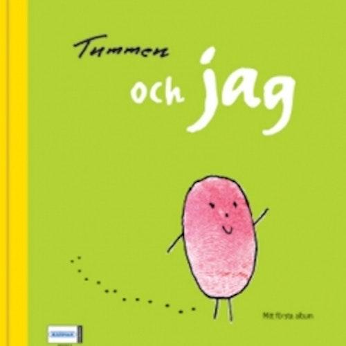 Fyll-i-bok Tummen, mitt första album
