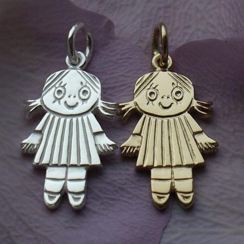 Smycke till barn Lilla Anna, silver