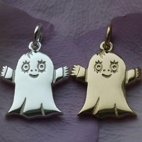 Smycke till barn Lilla Spöket Laban, silver